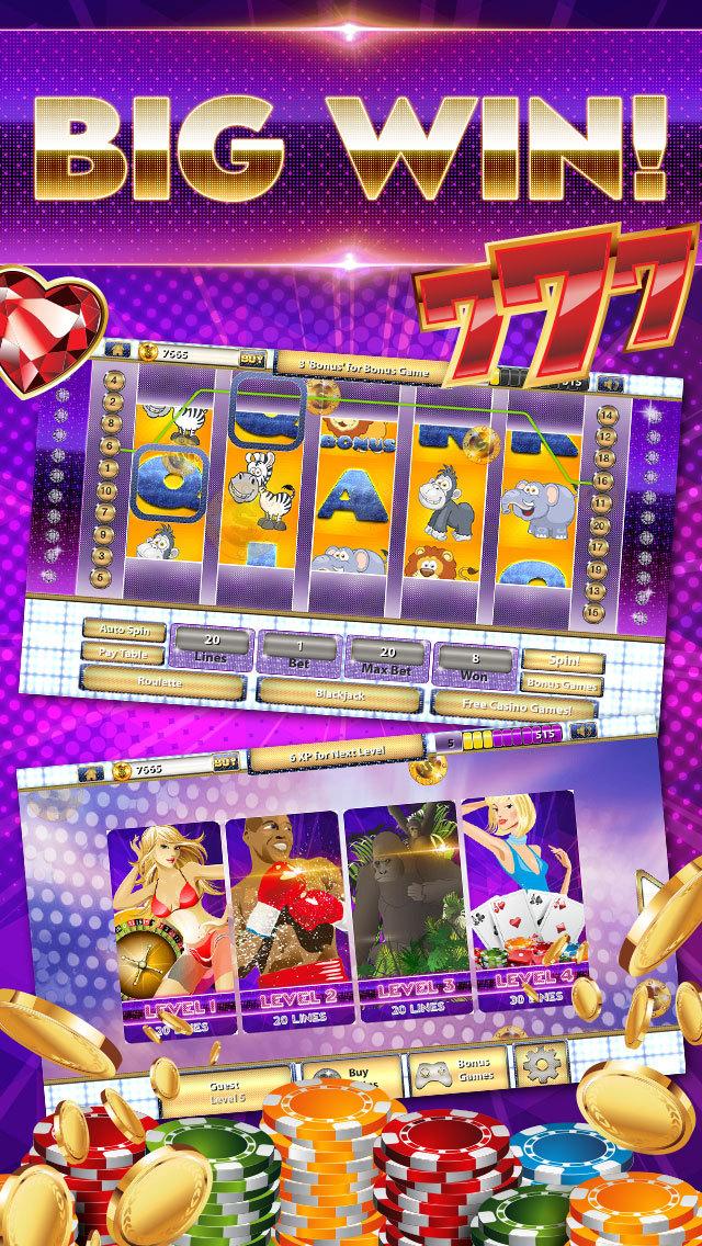 A Bonanza Slots Bash HD - Vegas Fun House Casino screenshot 3
