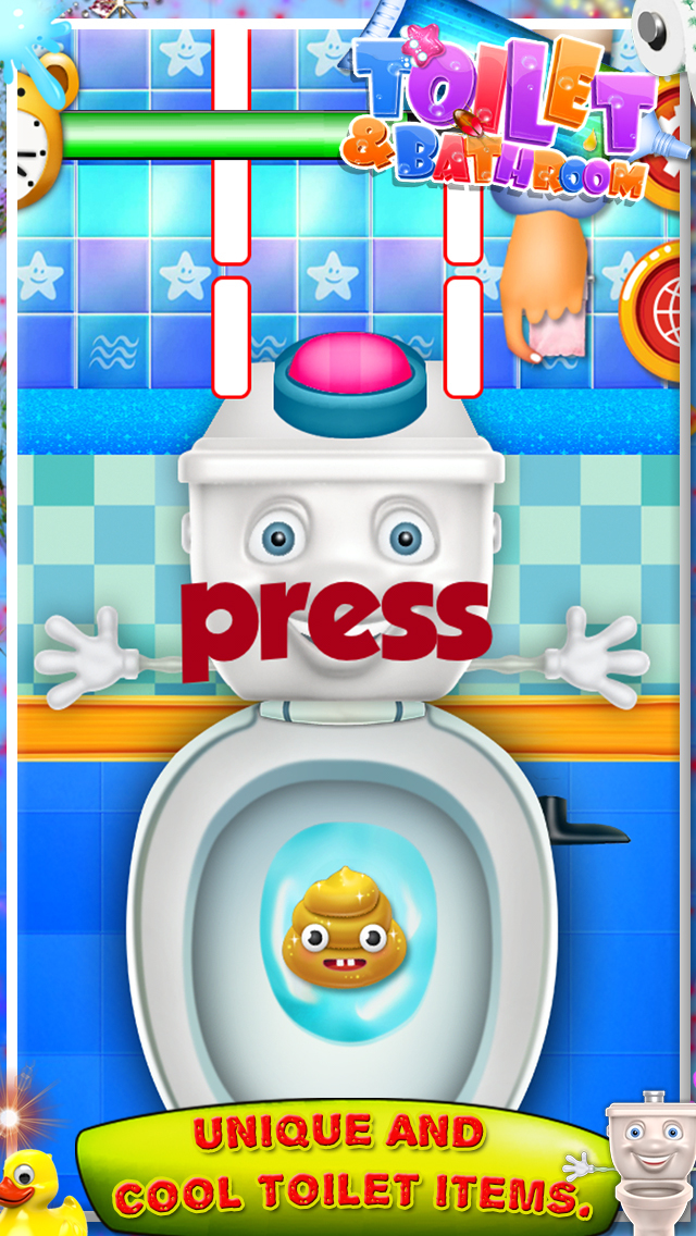 Toilet and Bathroom Fun Games screenshot 2