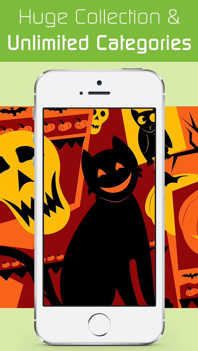 Halloween Wallpaper Sticker HD screenshot 3