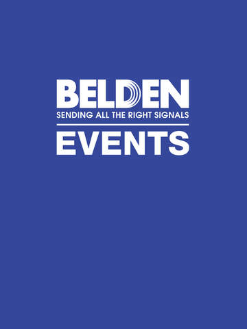 Belden EMEA Events screenshot 3