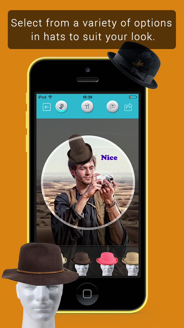 Hat Booth HD screenshot 3