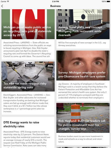 DTWnow: Detroit Local News Weather Sports Traffic screenshot 8