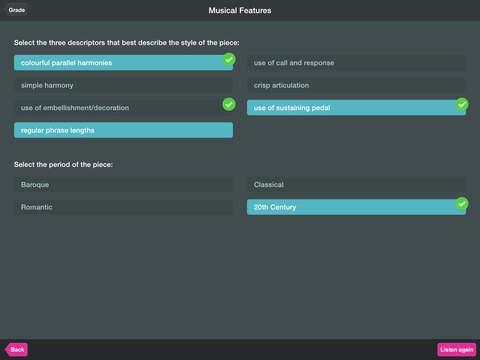 ABRSM Aural Trainer 6-8 Lite screenshot #3