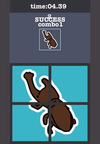 Rotate Rhinoceros Beetle Puzzle - náhled