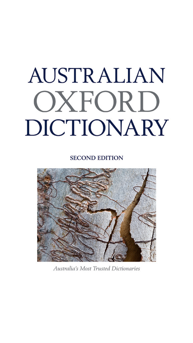 Australian Oxford Dictionary screenshot 1