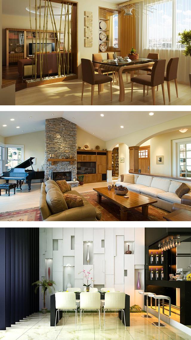 Home Decoration Ideas PRO, Interior Designs Plans screenshot 1