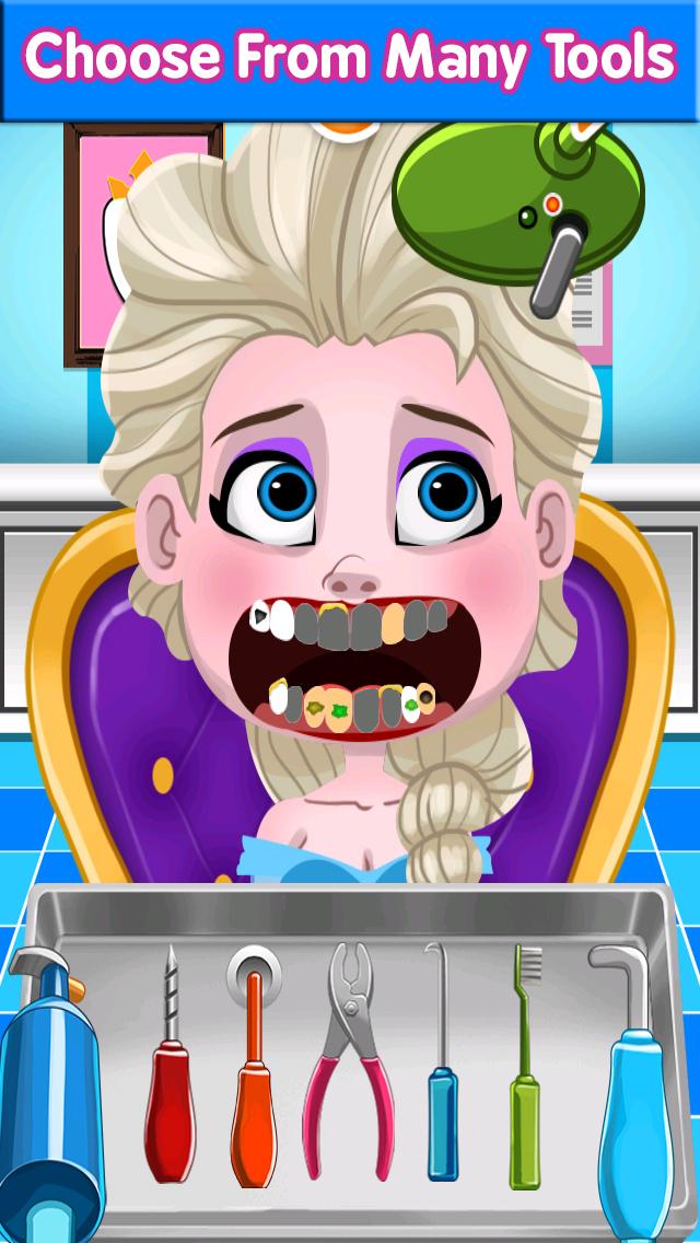 Dentist Princess Teeth Care screenshot 3