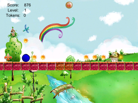 Free Platform Game Addictive Rolling Balls screenshot 6
