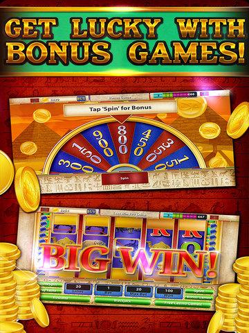 Pharaoh's Party Jackpot Casino - Social Slots Supreme (3D Crack Xtreme Craze) screenshot 10