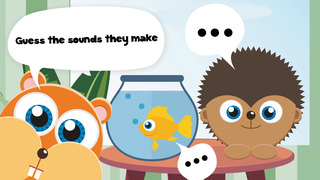 Play with Cute Baby Pets Pets Game for a whippersnapper and preschoolers screenshot 1