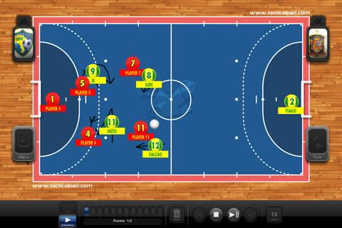 TacticalPad Futsal/Handball Pro - náhled