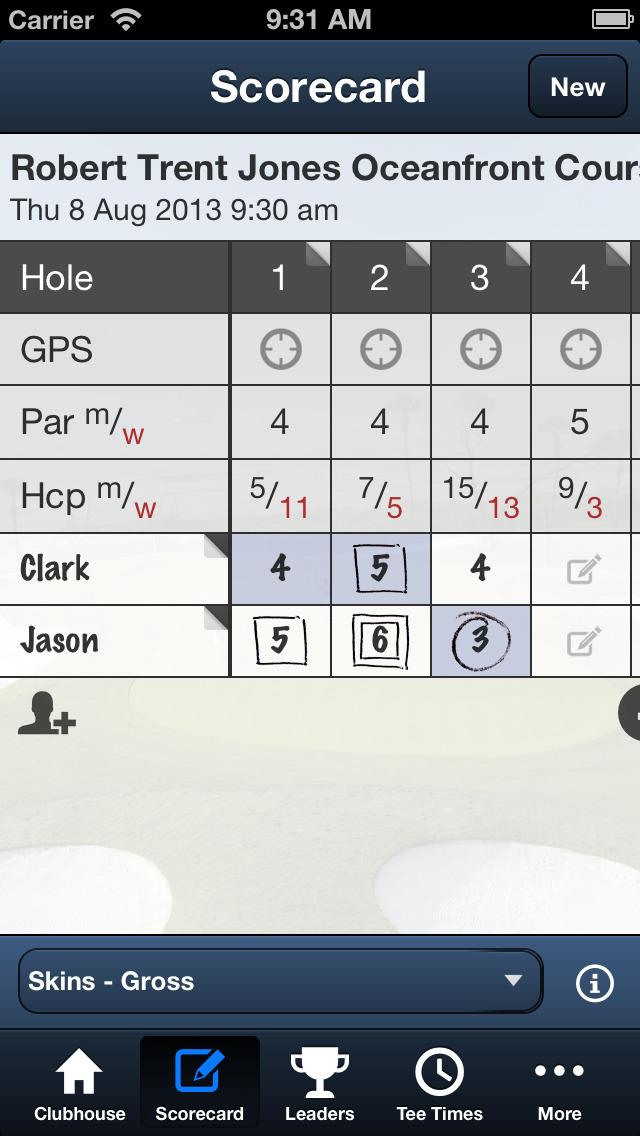 Palmetto Dunes Golf screenshot 4
