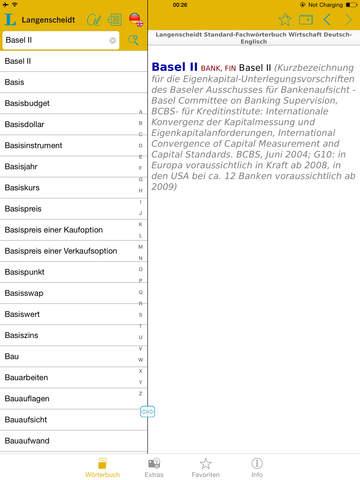 Wirtschaft Englisch<->Deutsch Fachwörterbuch Standard screenshot 9