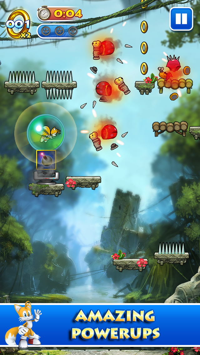 Sonic Jump™ screenshot #3