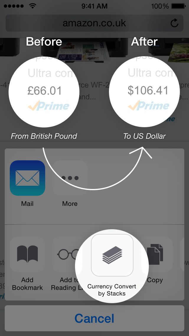 Stacks 2 - New Age Currency Converter screenshot 2