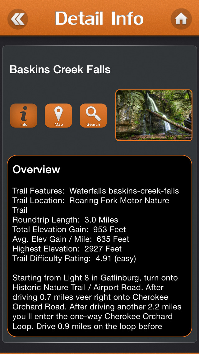 Hiking - Great Smoky Mountains National Park screenshot 3