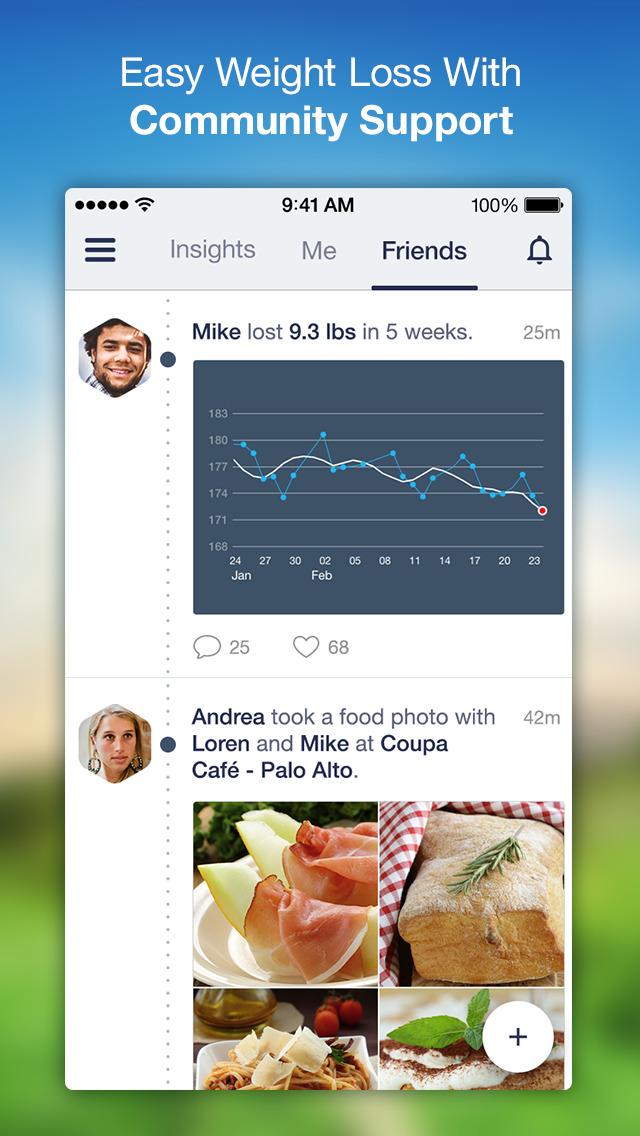Argus: Calorie Counter & Step screenshot 2