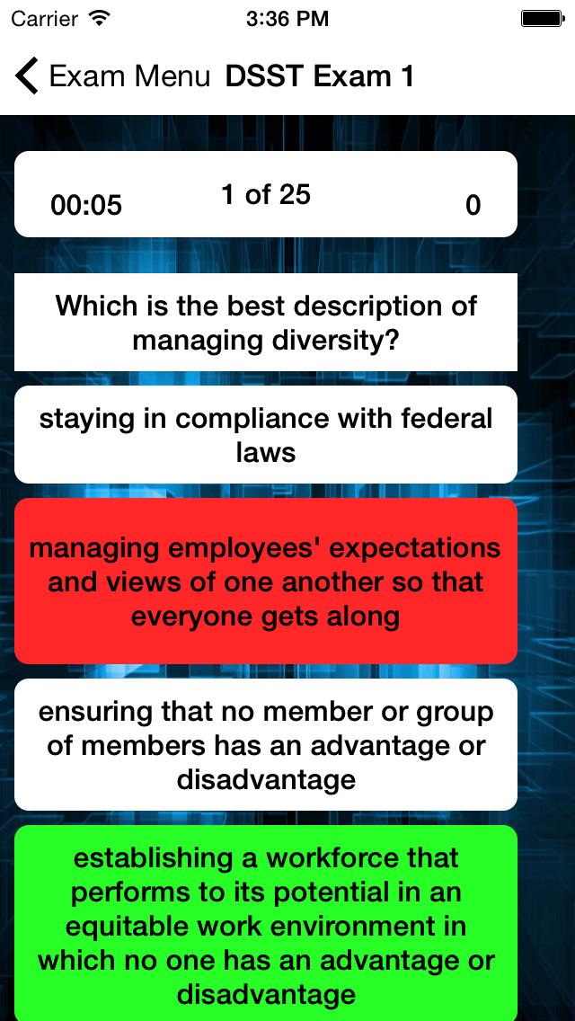DSST Human Resource Management screenshot 3