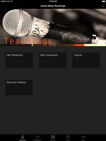Xenos Christian Fellowship screenshot 4