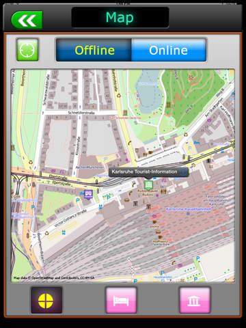 Karlsruhe Offline Map Travel Guide screenshot 7