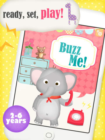 Buzz Me! Kids Toy Phone Free - All in One children activity center screenshot 6
