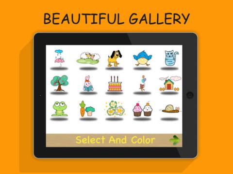 Doodle Coloring - draw & paint screenshot 1