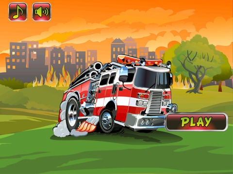 Fire Truck Runner screenshot 3