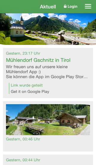 Mühlendorf Gschnitz in Tirol screenshot 1