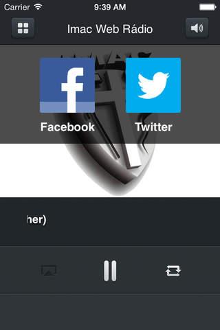 Imac Web Rádio - náhled