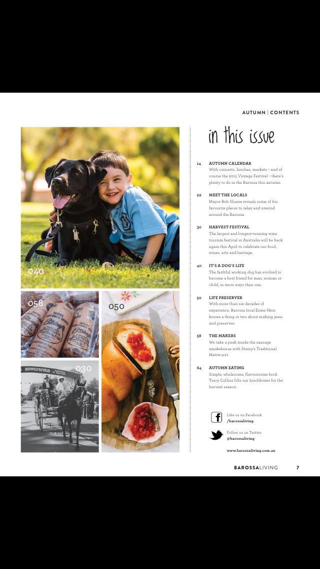 Barossa Living Magazine screenshot 3