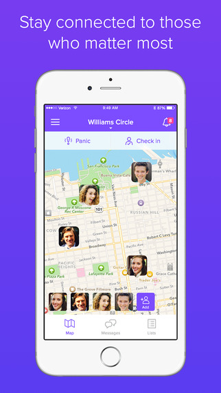 how to customize your iphone life360 family locator messaging and more on the app 7114