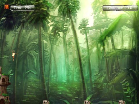Spider Monkey Rope Aventure screenshot 8