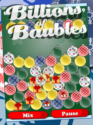 Billions Of Baubles - Free Christmas Balls Popping Game screenshot 4