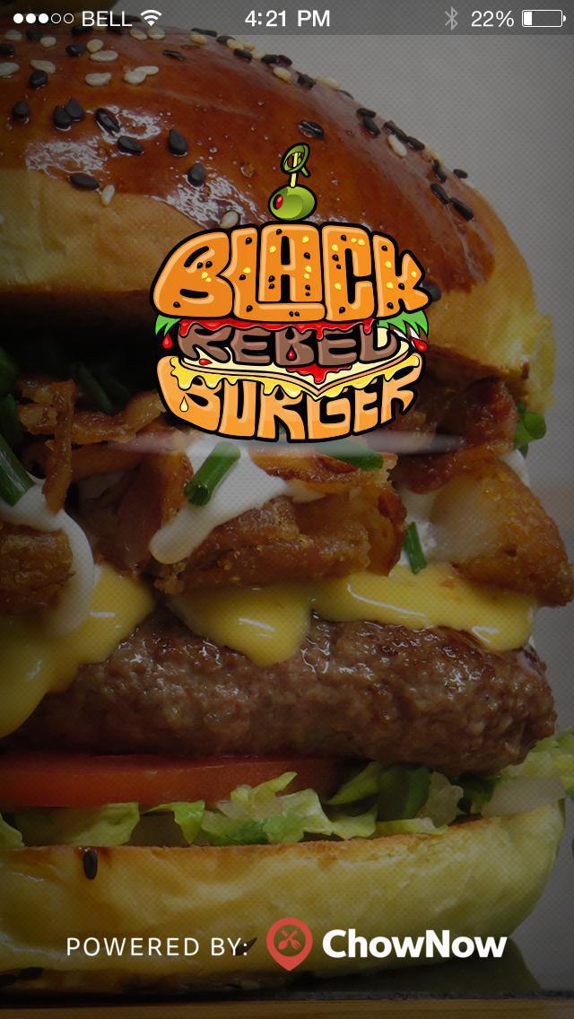 Black Rebel Burger screenshot 1