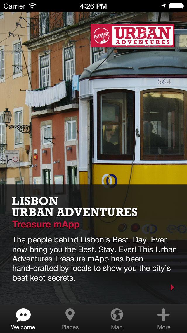 Lisbon Urban Adventures - Travel Guide Treasure mApp screenshot 1