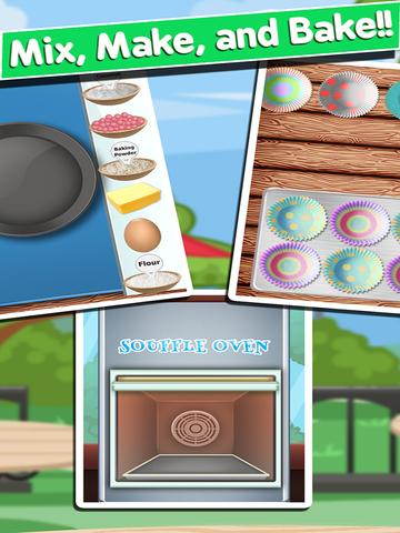 Awesome Souffle Cupcake Ice Cream Dessert Bakery Maker screenshot 9