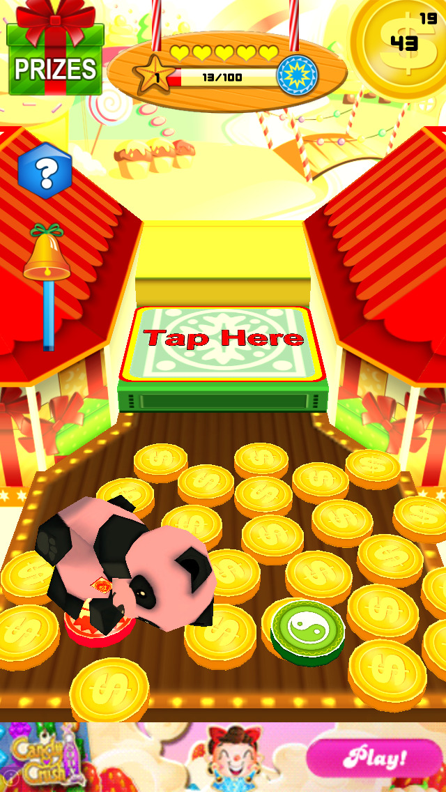 Candy Party Coin Pusher 3D screenshot 1