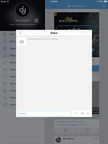 Twitter Small Business Planner screenshot 4