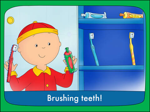 Goodnight Caillou screenshot 8