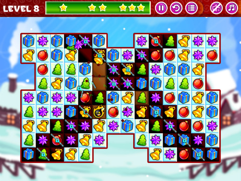 Christmas Sweeper - Relaxing Match-3 Puzzle Game screenshot 6