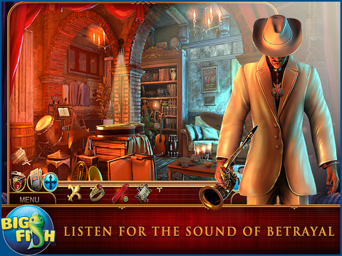 Cadenza: Music, Betrayal, and Death HD - A Hidden Object Detective Adventure (Full) screenshot 1