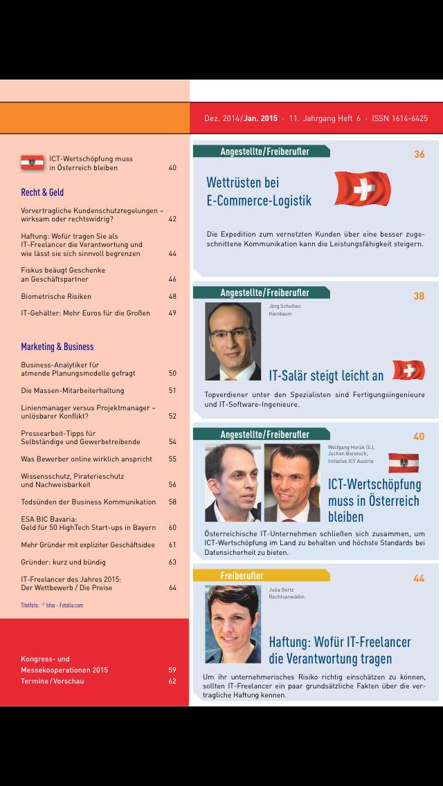 IT Job Magazin screenshot 3