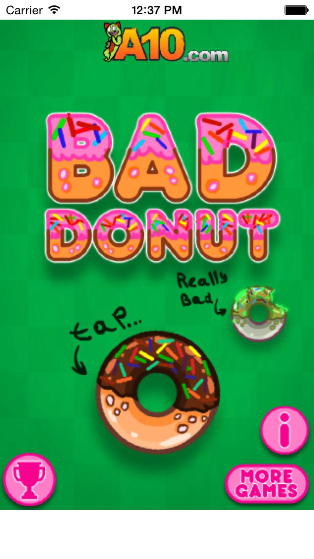 Bad Donut - Free Game screenshot 1
