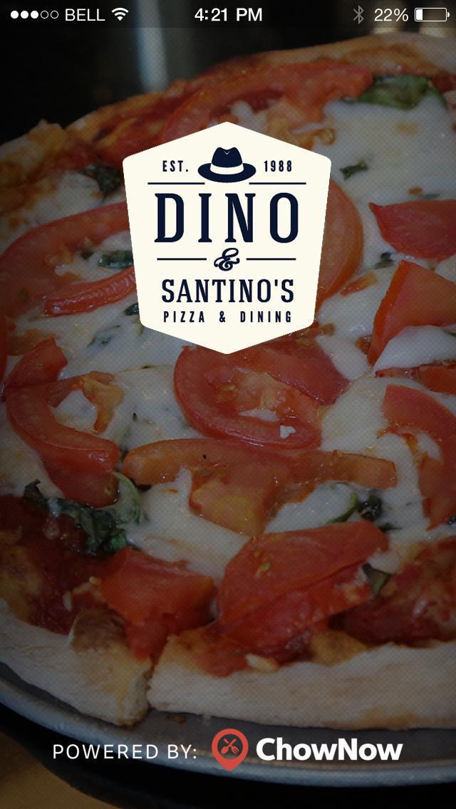 Dino & Santino's Pizza screenshot 1