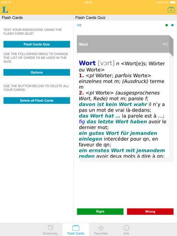 Big German French Dictionary screenshot 8