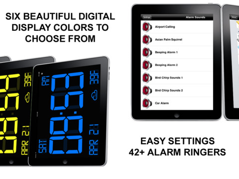 iDigital Big3 Alarm Clock Widget screenshot 10