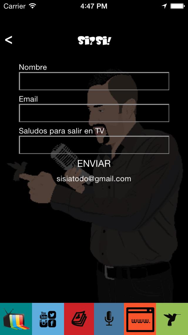 Farid El reportero en la Frontera de El Gordo y La Flaca - Si Si version screenshot 4