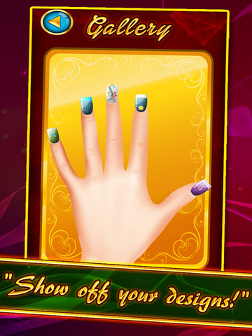 `Awesome Nails Salon Dress Up - Girl Beauty Makeover Spa Free screenshot 6