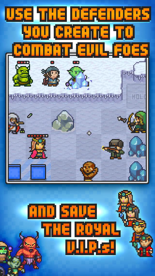Pixel Defenders Puzzle screenshot 3