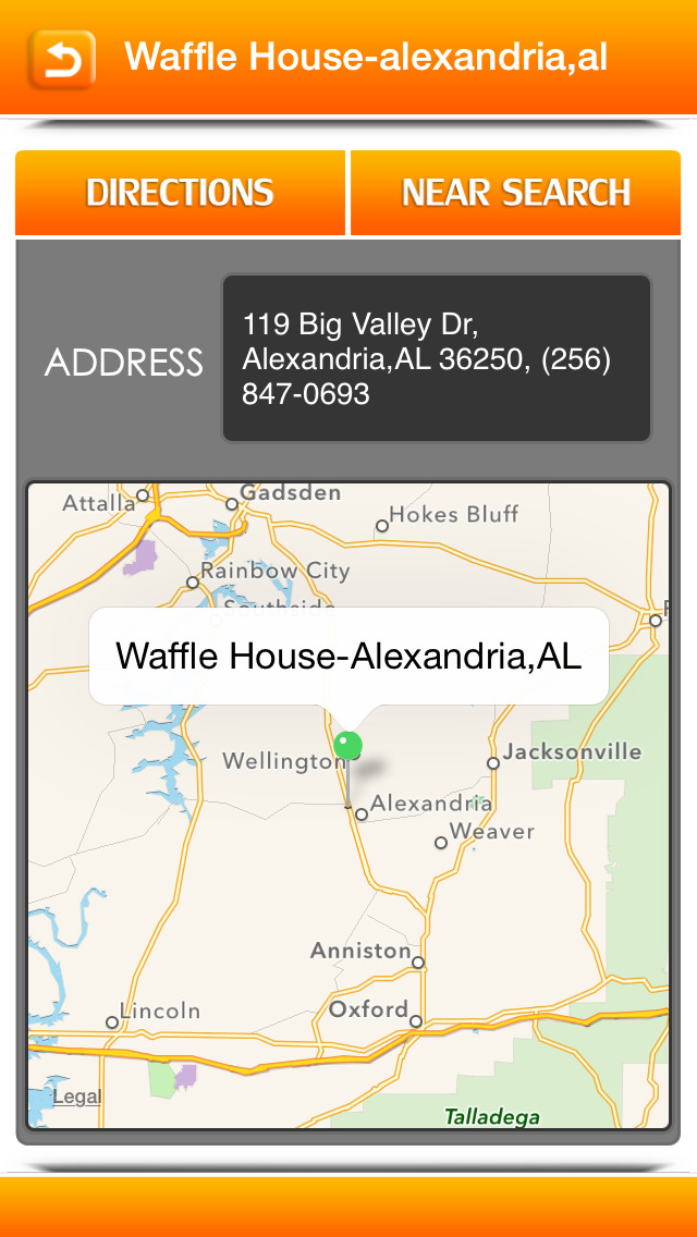 Great App for Waffle House Locator screenshot 3